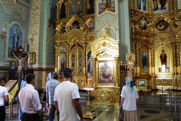 Группа осужденных побывала в трех храмах Ставрополя и в одном монастыре.